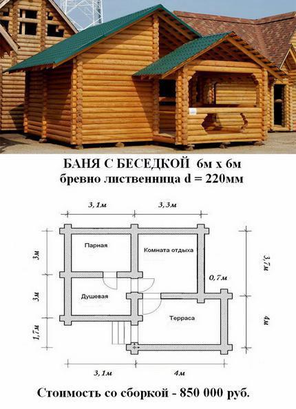 Как построить баню пошагово